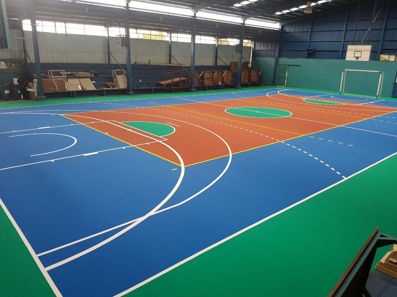 canchas multiusos